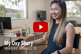 My Oxy Story Video: Marjorie Morales '17