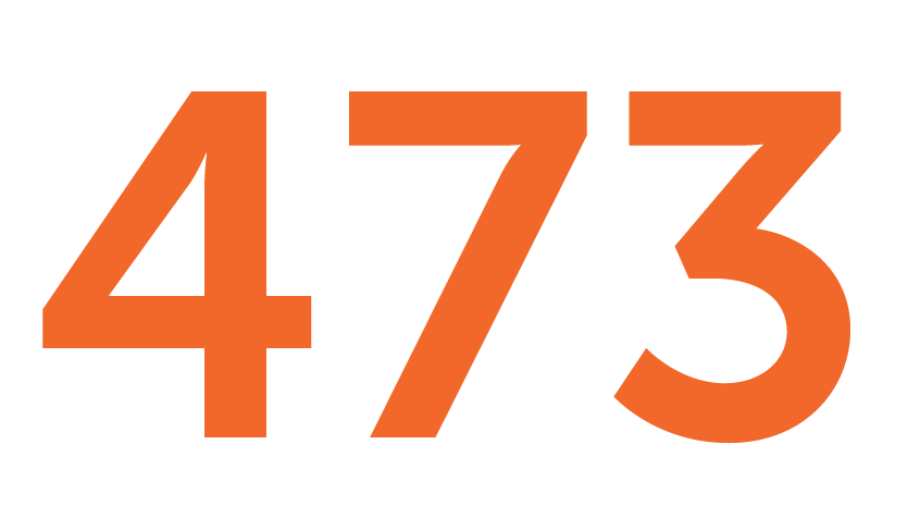 473 transfer applicants in fall 2019