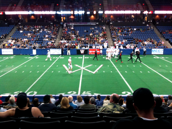 Arena Football Occidental College The Liberal Arts College In