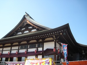 One of many shrine buildings.