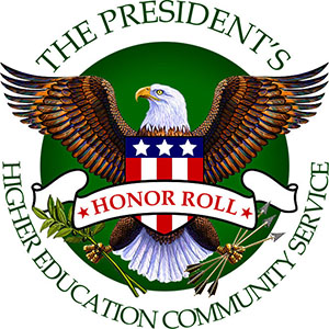 The President's Honor Roll: Higher Education Community Service