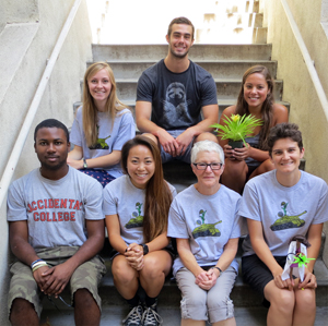 G. North'a lab group in 2015-2016.