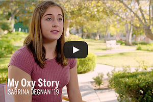My Oxy Story Video: Madeline Dimarco '17