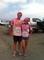 Emiko at the Color Run