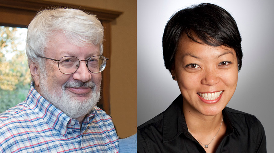 Occidental College professors Peter Dreier and Mijin Cha