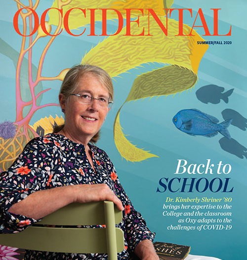 occidental magazine cover