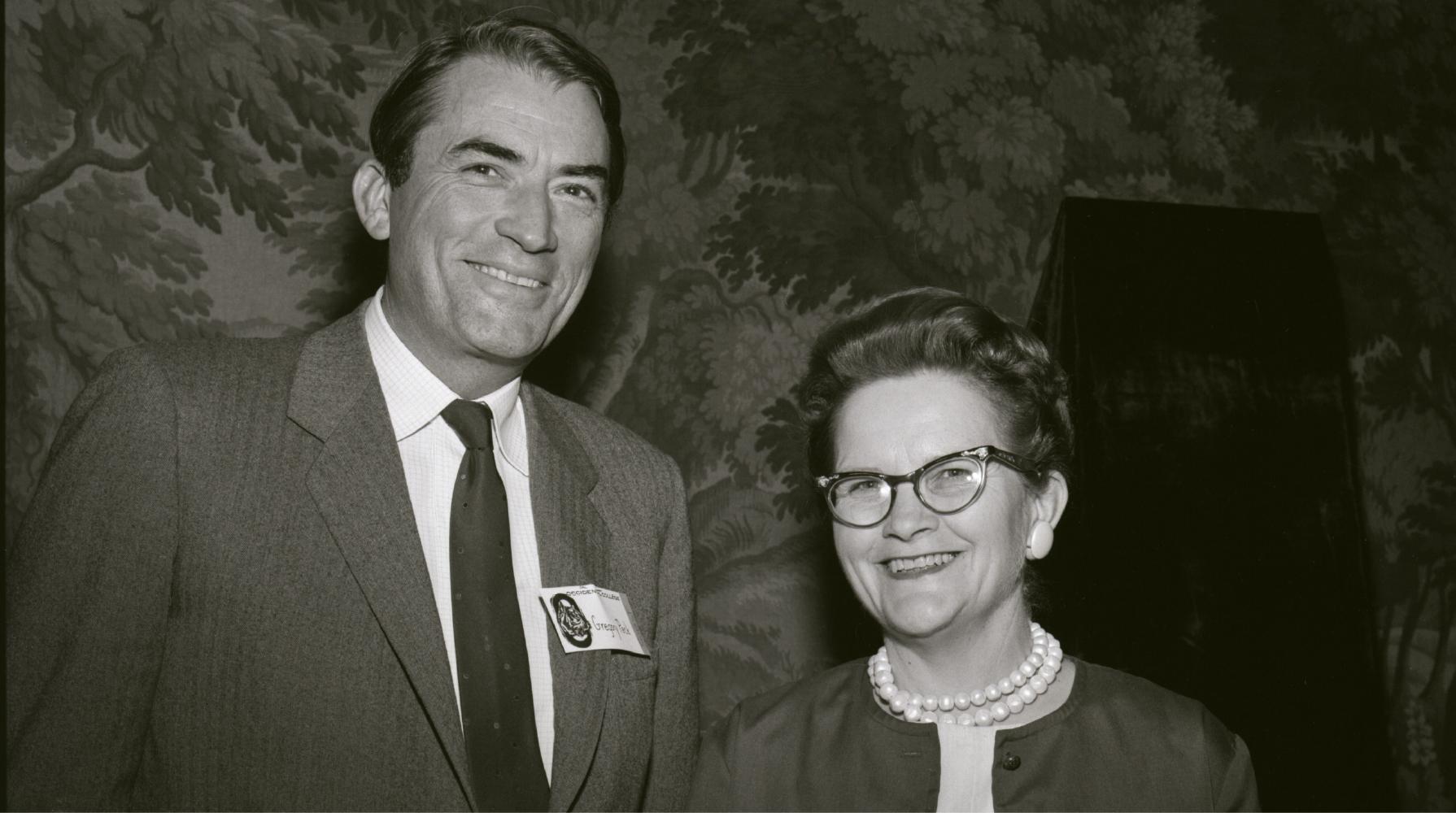 Clancy Morrison, Gregory Peck