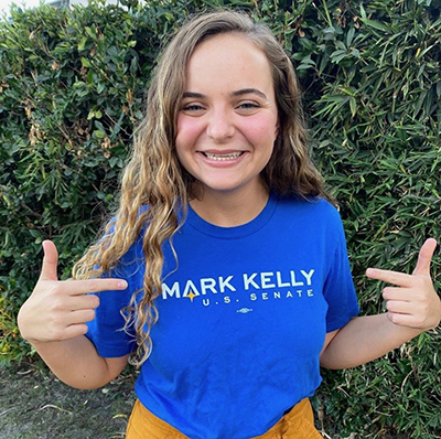 Madeline Aubry, Campaign Semester