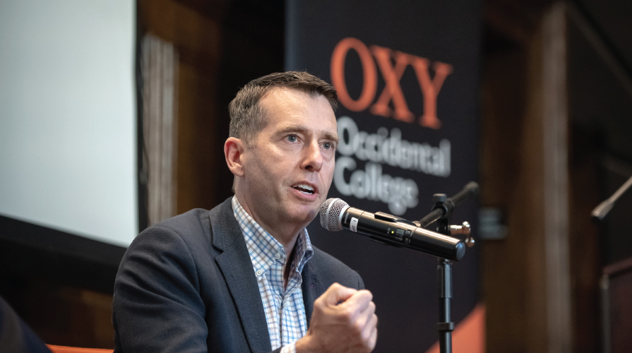 David Plouffe Obama Scholars Speaker