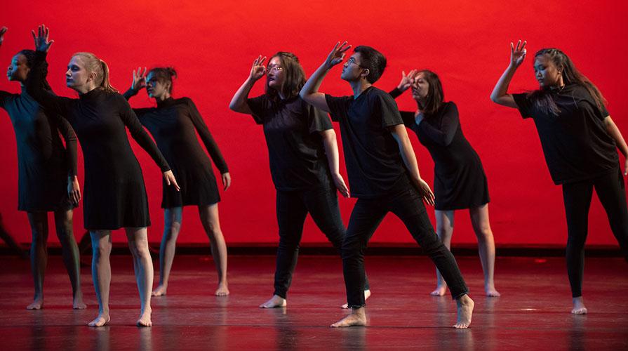 Dance Pro dancers