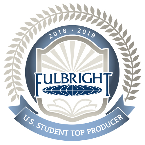 2018-19 Fulbright Top Producer logo