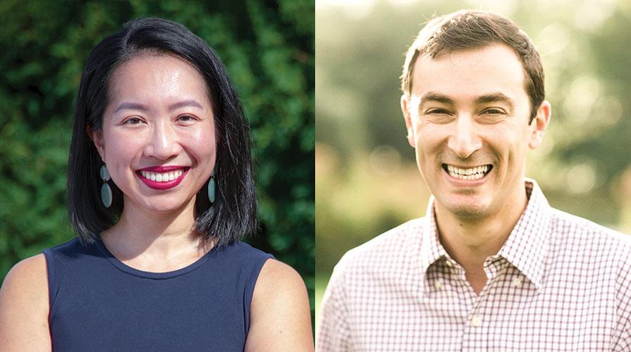 Occidental College professors Mai Thai and Seva Rodnyansky