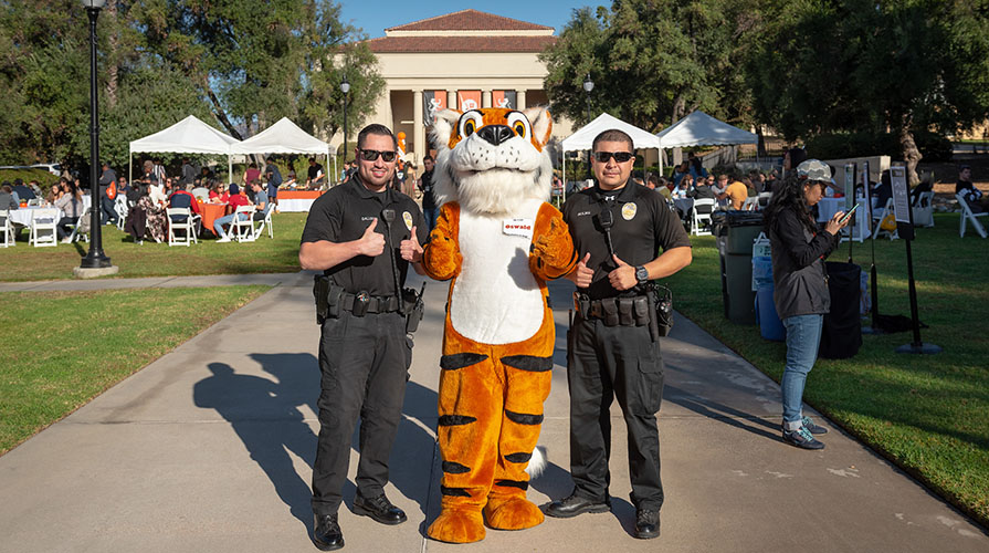 campus safety officers and Oswald