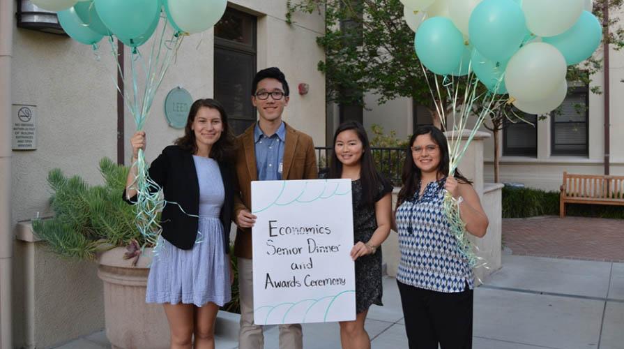 Oxy economics students