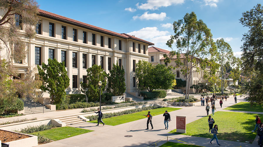 Oxy's beautiful campus