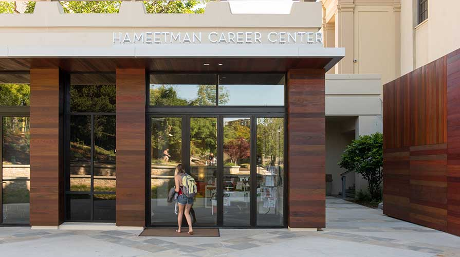 Oxy's Hameetman Career Center