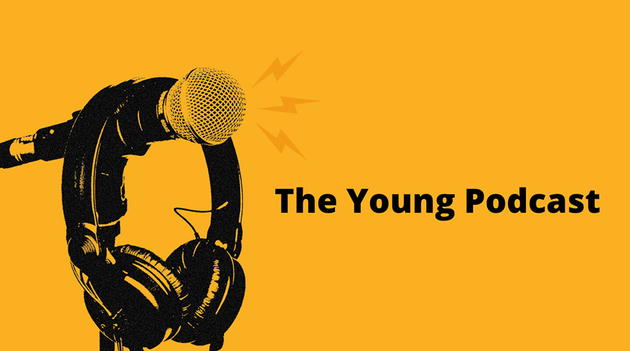 The Young Podcast Logo