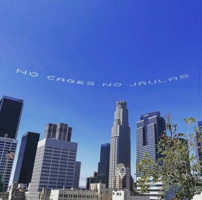 In Plain Sight Launch_Los Angeles Skyline