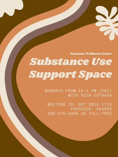 Substance Use Support Space Poster