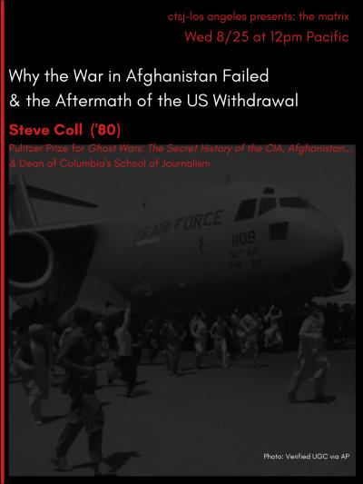 Steve Coll Why the War in Afghanistan Failed