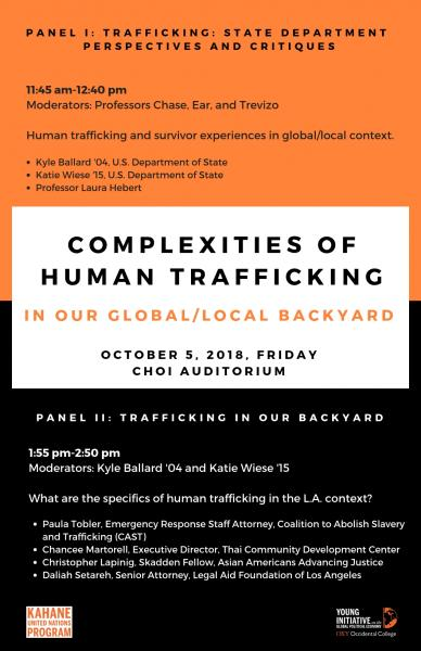 Complexities of Human Trafficking: State Department