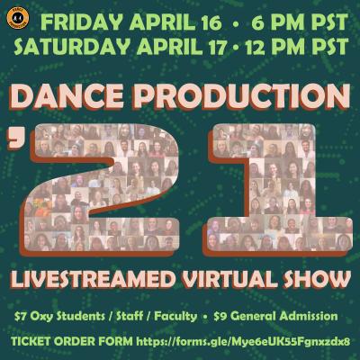 Dance Production 2021
