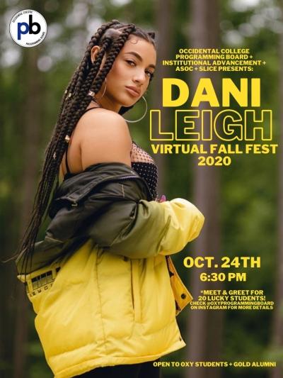 DanLeigh at Fall Fest poster