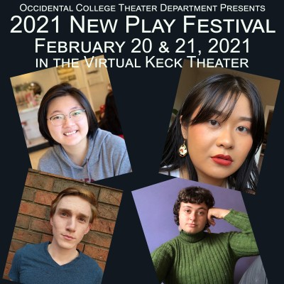 New Play Festival 2021 Poster
