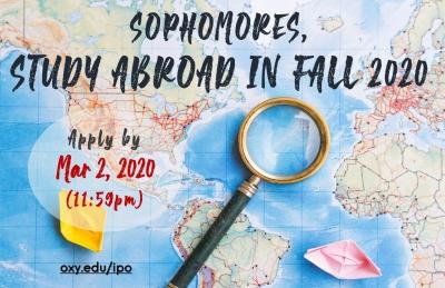 Fall 2020 Application Deadline