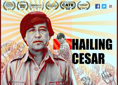 """Film poster for """"Hailing Cesar"""""""