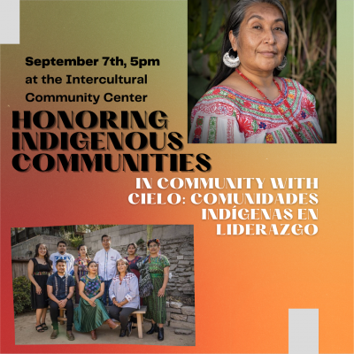 Honoring Indigenous Communities: In Community with Cielo