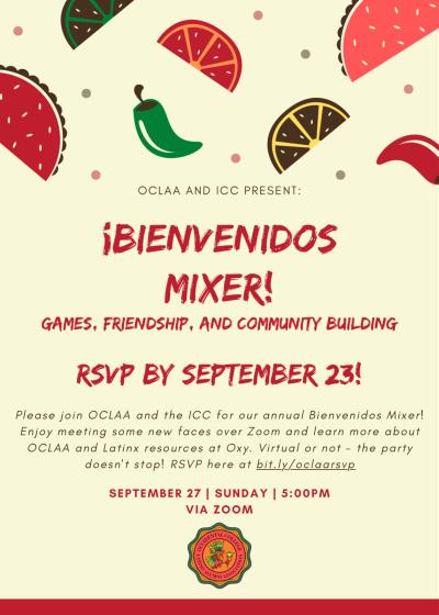 Image of Bienvenidos Mixer Flyer