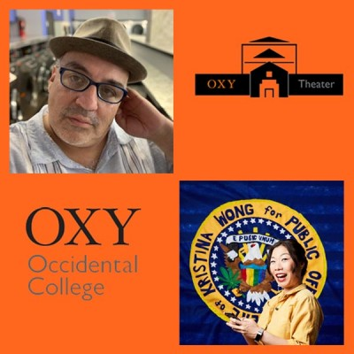 In Our Own Voice Event Graphic, Part I: Playwriting with Luis Alfaro and Kristina Wong