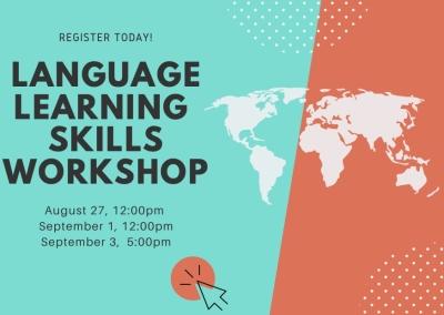 Language Learning Skills Workshop