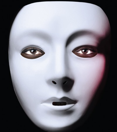 Image of a person wearing a mask