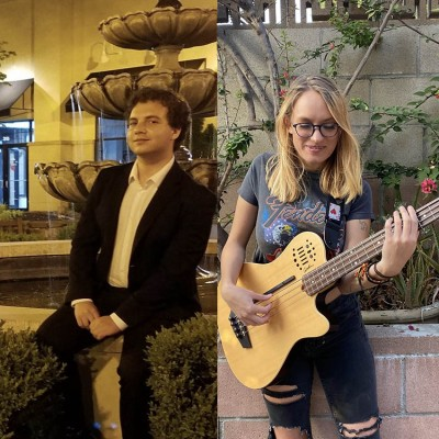 Brandon Markson and Olivia Oosterhout