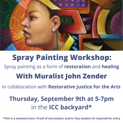 Spray Painting Workshop Advertisement