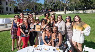 Class of 2008 at Oxy Reunion