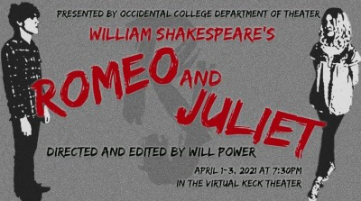 Romeo and Juliet play poster