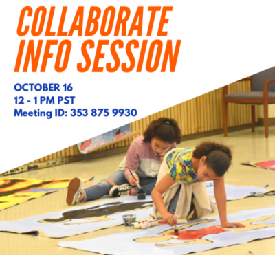 Flyer for Collaborate Info Session