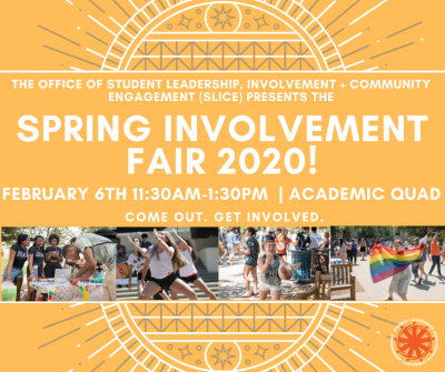 Spring Involvement Fair 2020