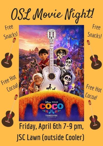 OSL Movie Night: Coco | Occidental College