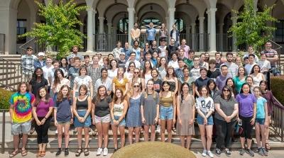 2018 Undergraduate Research Center participants