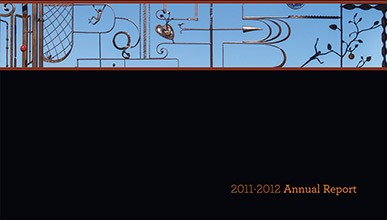 Cover of the 2011-2012 Occidental College Annual Report