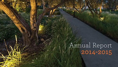 Cover of the 2014-2015 Occidental College Annual Report