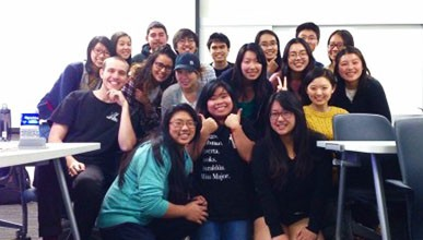 Oxy international students