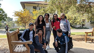 High school students explore Oxy's campus