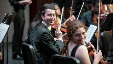 orchestra members