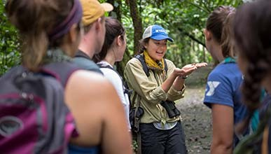 Oxy students study in Costa Rica as part of their URC reserach