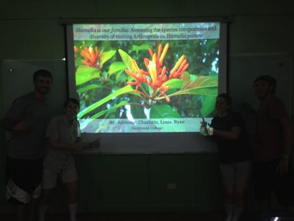 Image for May 29, 2014 - La Selva Biological Station Classroom